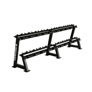 Two Layer Commercial Grade Dumbbell Rack