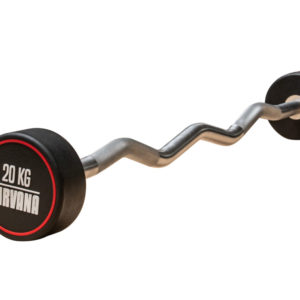 Fixed Weight Barbell - Curved 20kg